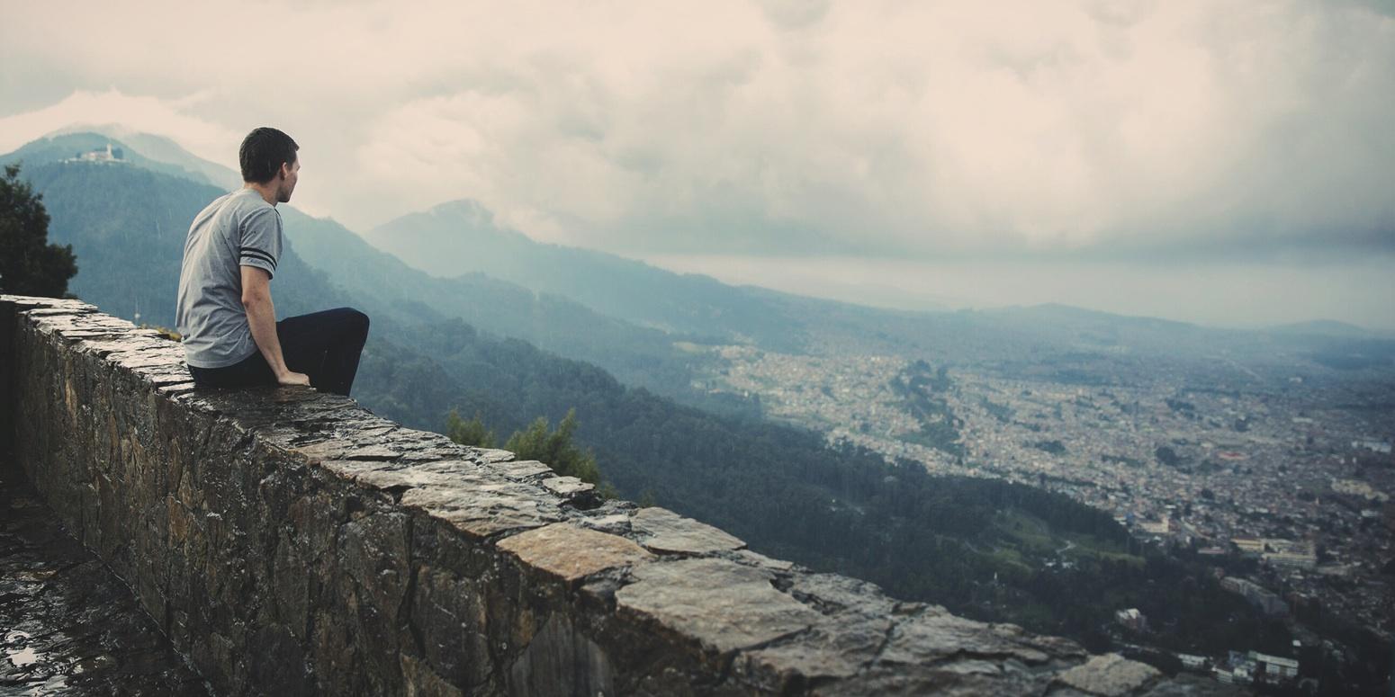 sitting on a wall_Joshua Earl